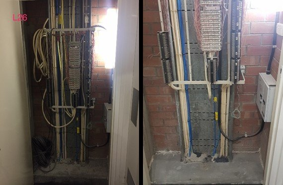 Building Maintenance Riser Clean-Up