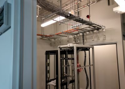Construction Of A Server Room At Arup