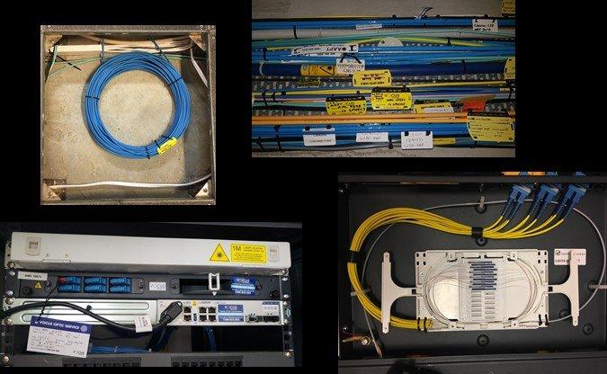 Installations Of Fibre Backbone Cable