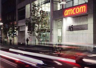 Installing Fibre Optic & Bonded DSL For AmCom Telecommunications