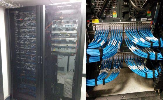Server Room Electrical Works